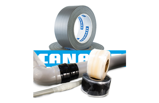Canalit Stretch & Fix tape en Duct tape